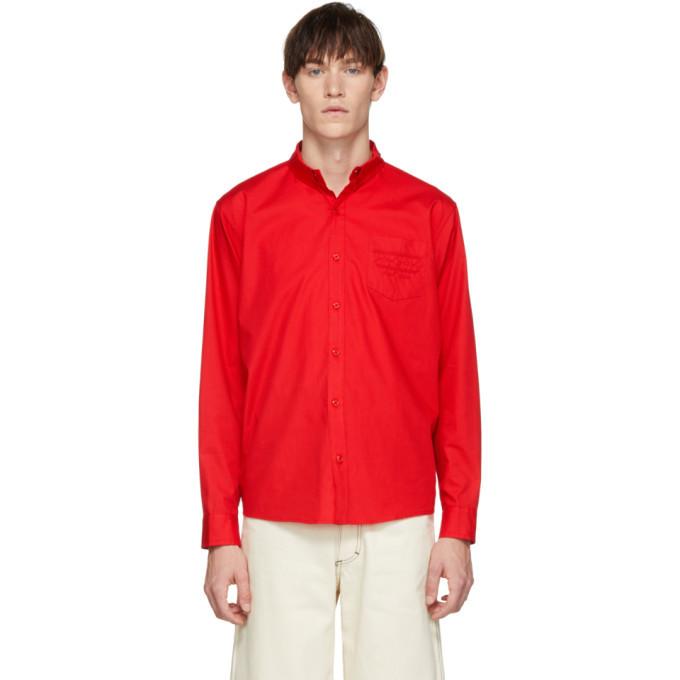 Photo: Bianca Chandon Red Western Shirt