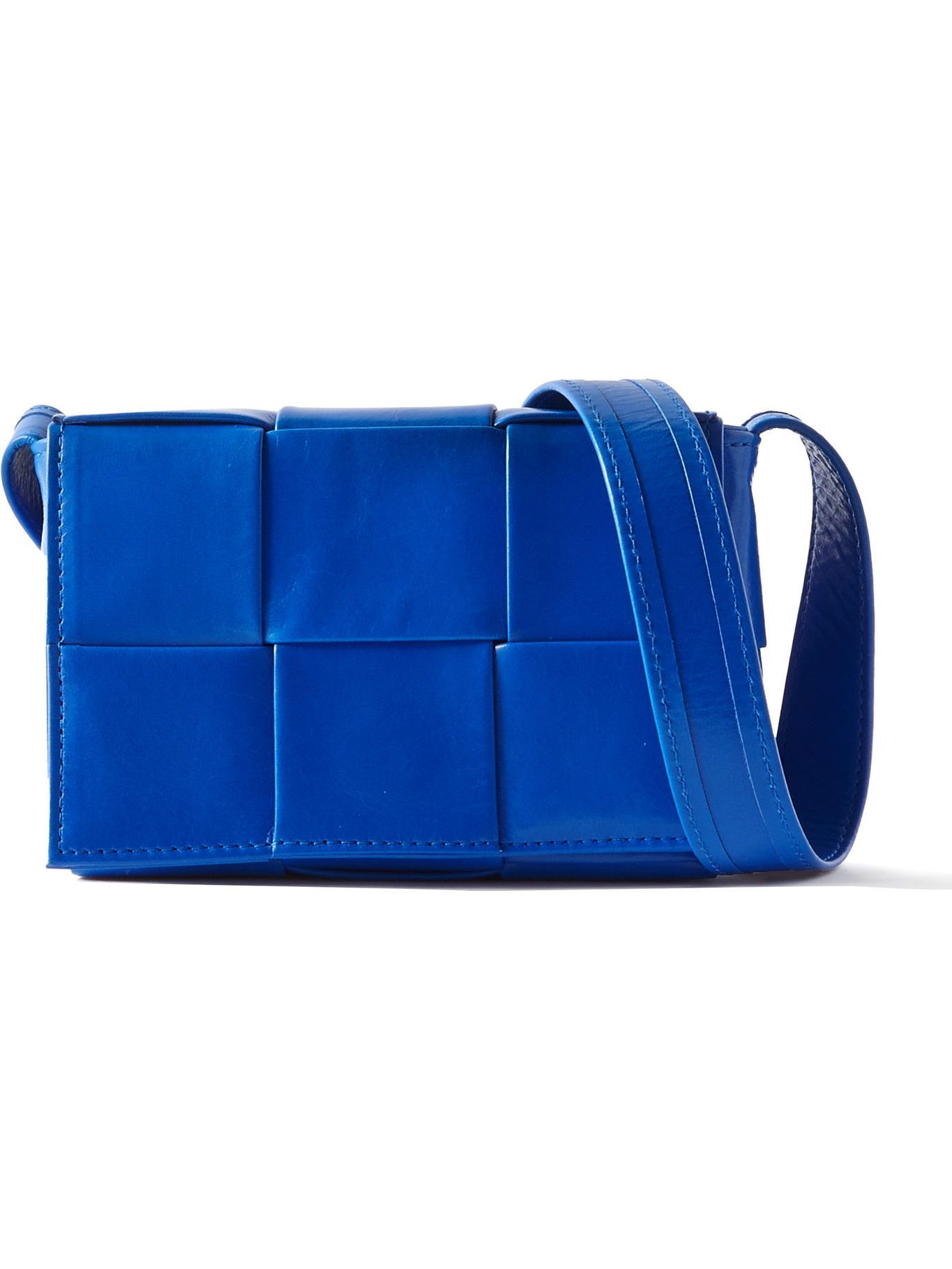 Photo: Bottega Veneta - Intrecciato Leather Messenger Bag