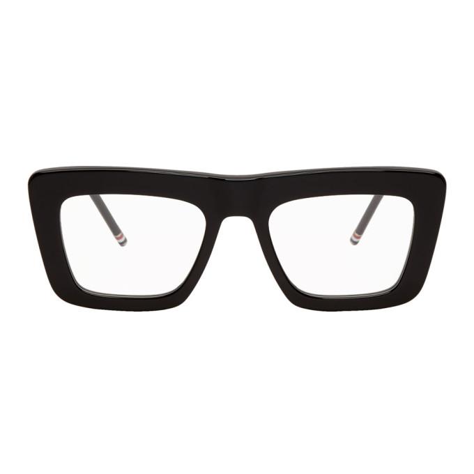 Photo: Thom Browne Black TB-145 Glasses