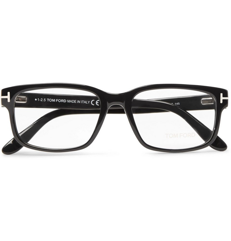 1942fda2cbb TOM FORD - Square-Frame Acetate Optical Glasses - Black TOM FORD