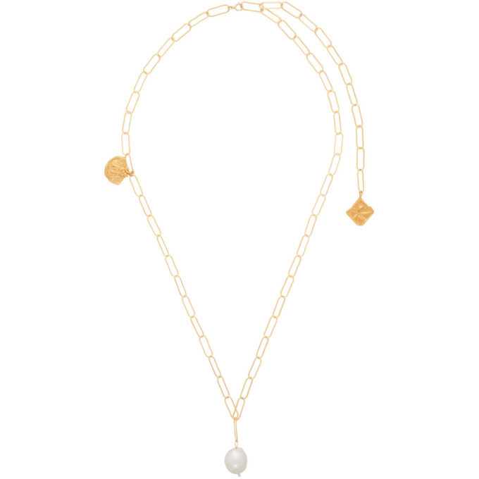 Alighieri Gold The Land of the Lawless Charm Necklace