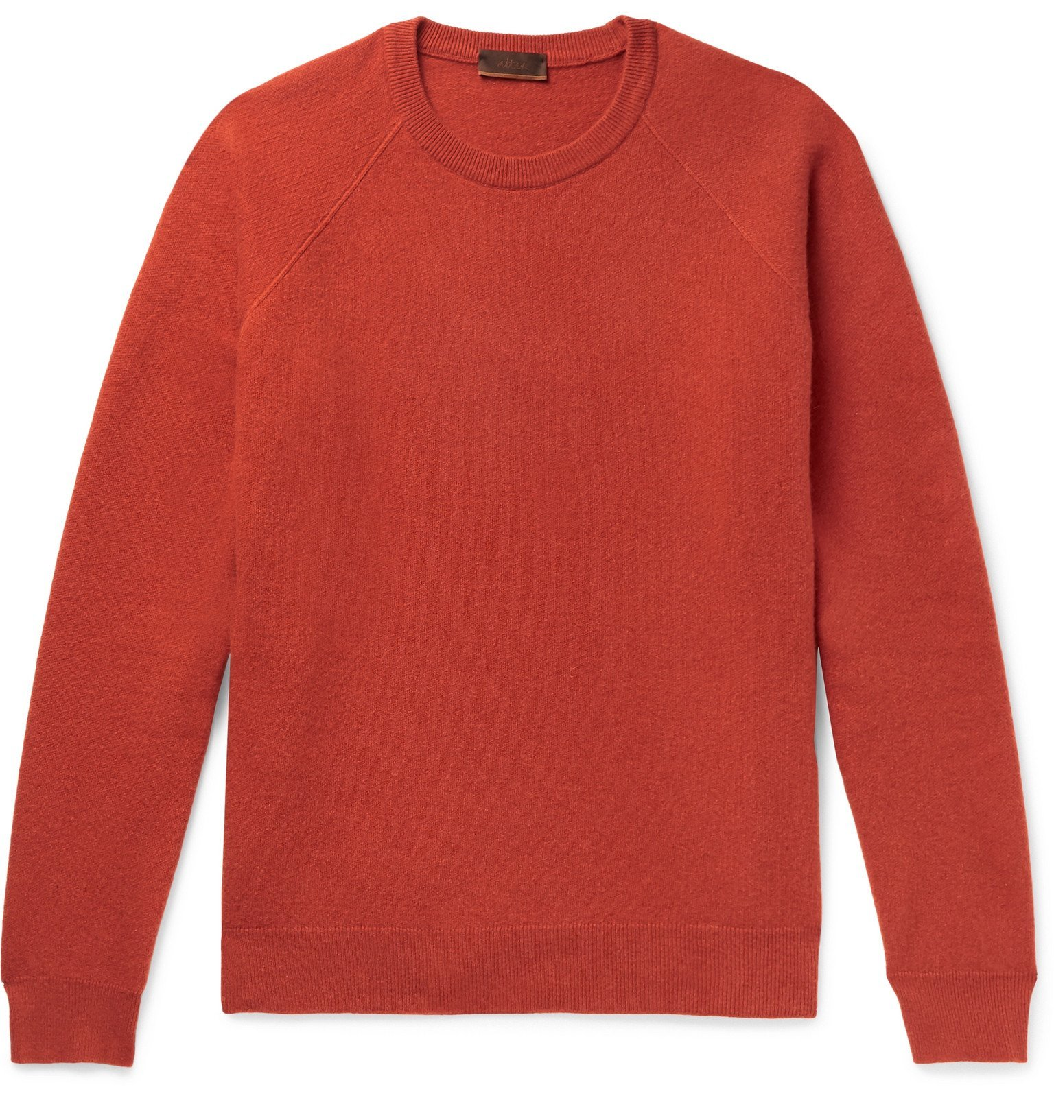 Photo: Altea - Virgin Wool and Cashmere-Blend Sweater - Orange