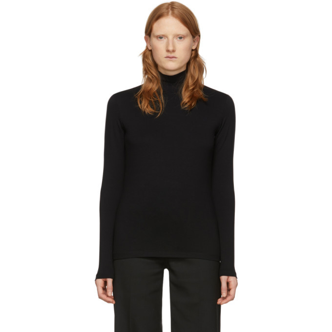 Photo: Won Hundred Black Logo Roxy Turtleneck