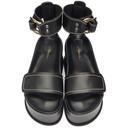 3.1 Phillip Lim Black Freida Platform Sandals
