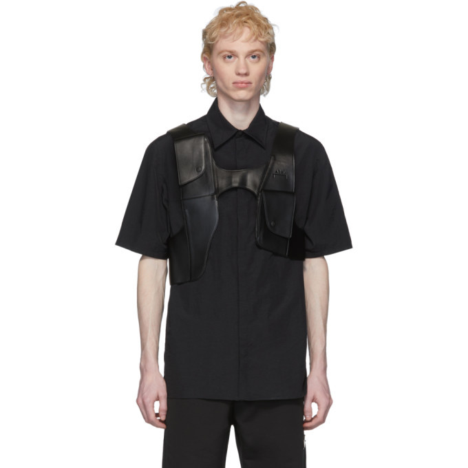 Photo: A-Cold-Wall* Black Frame Utility Harness Vest