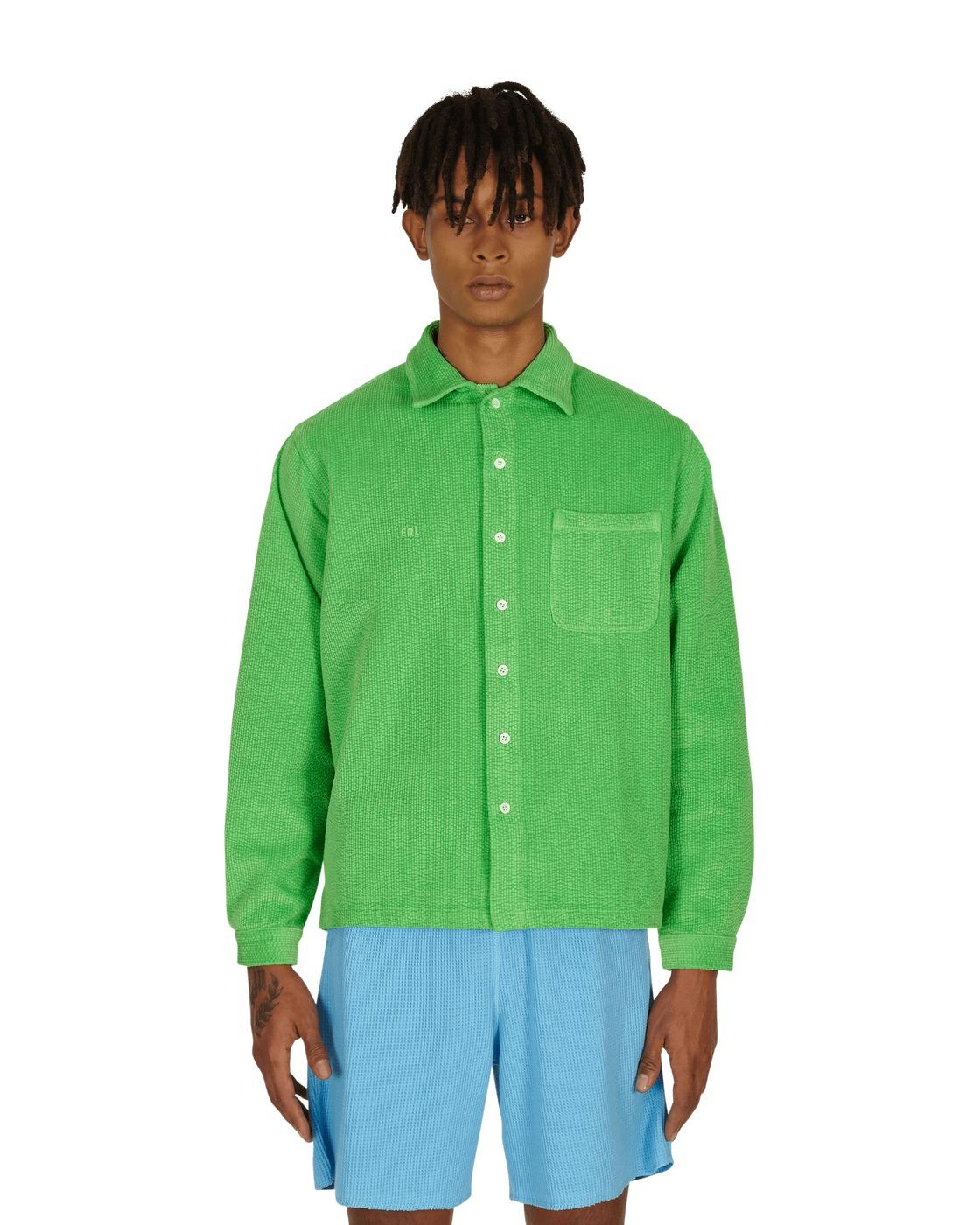 Photo: Erl Corduroy Shirt Green