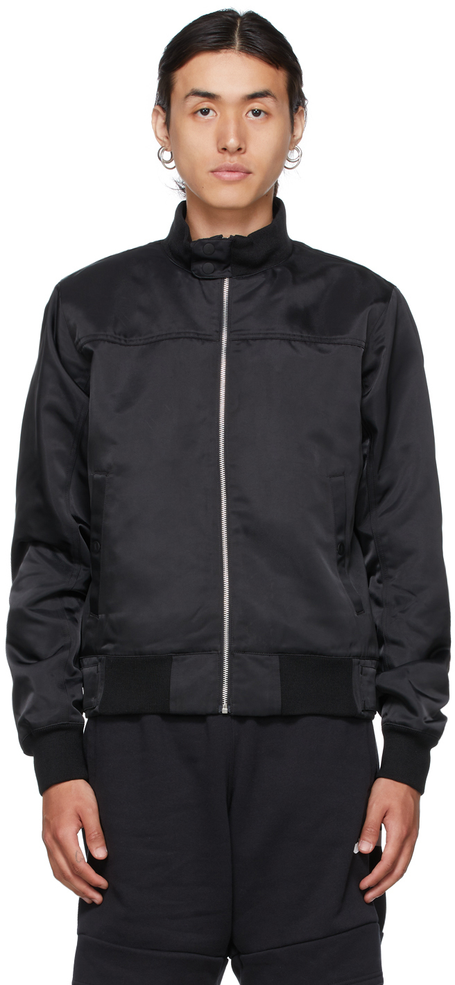 Photo: Nike Jordan Black A Ma Maniére Edition Flight Jacket