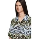Aries Blue and Green Leopard Animal Hawaiian Shirt