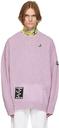 Raf Simons Purple Oversized Sweater