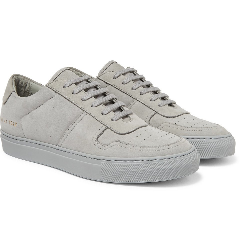 Common Projects - BBall Suede Sneakers - Men - Gray
