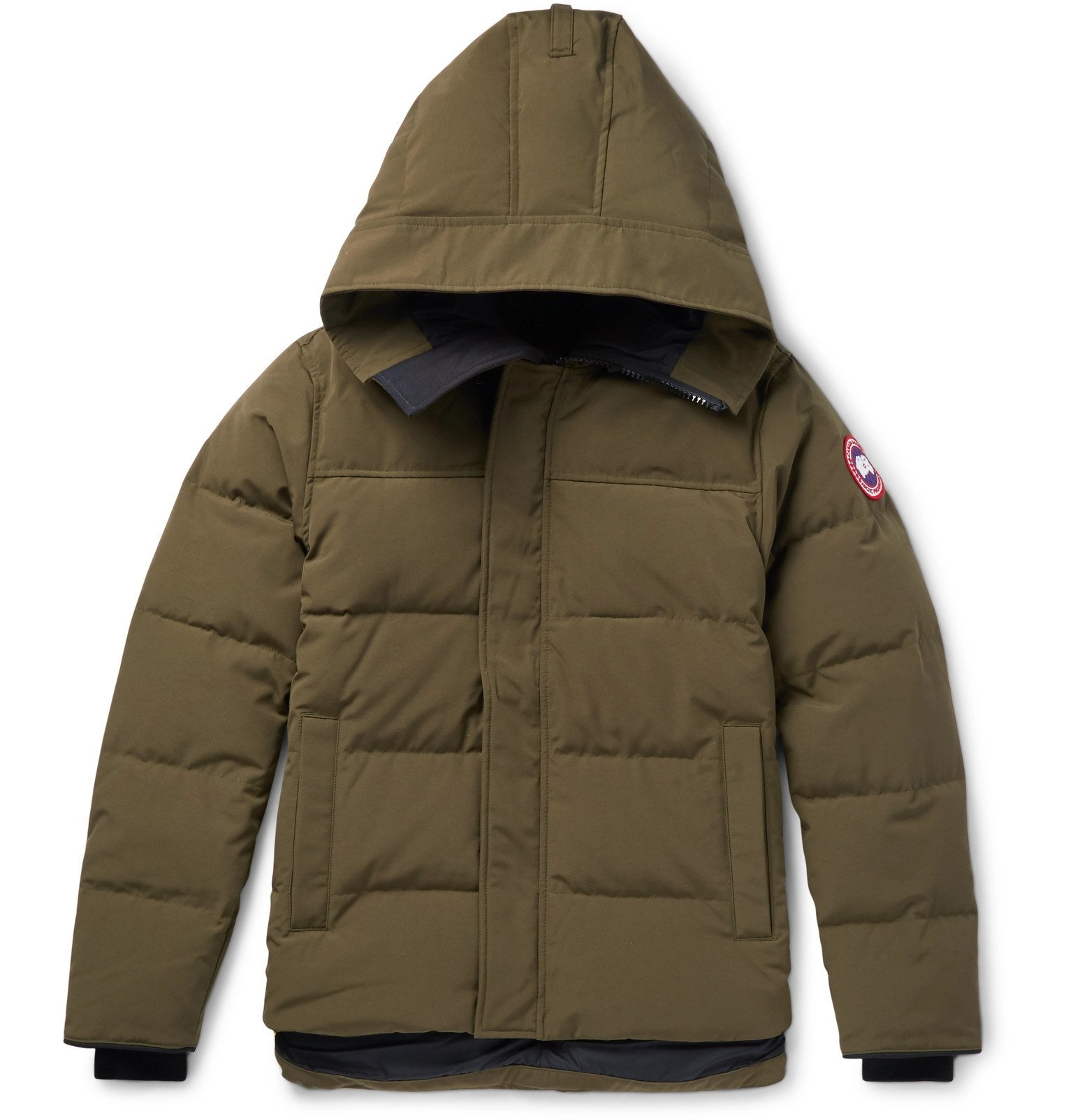 Photo: Canada Goose - Macmillan Quilted Shell Hooded Down Parka - Green