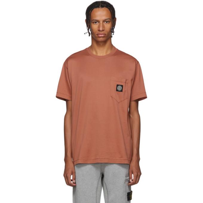 Photo: Stone Island Pink Pocket T-Shirt