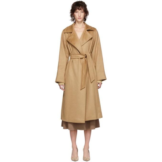 Max Mara Tan Manuela Coat