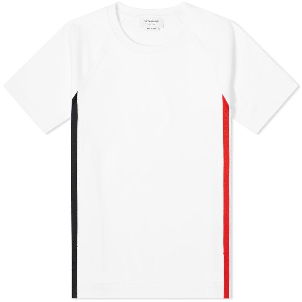 Photo: Thom Browne Interlock RWB Stripe Tee