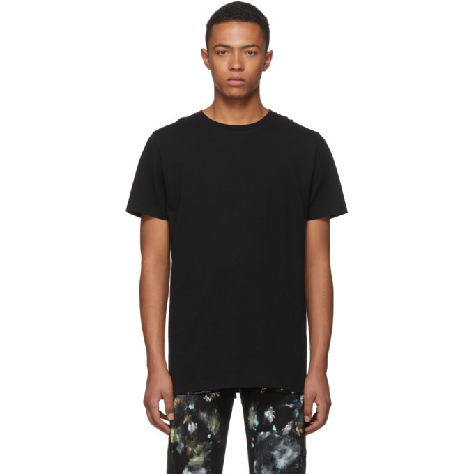 Photo: Off-White SSENSE Exclusive Black 3D Diagonal T-Shirt