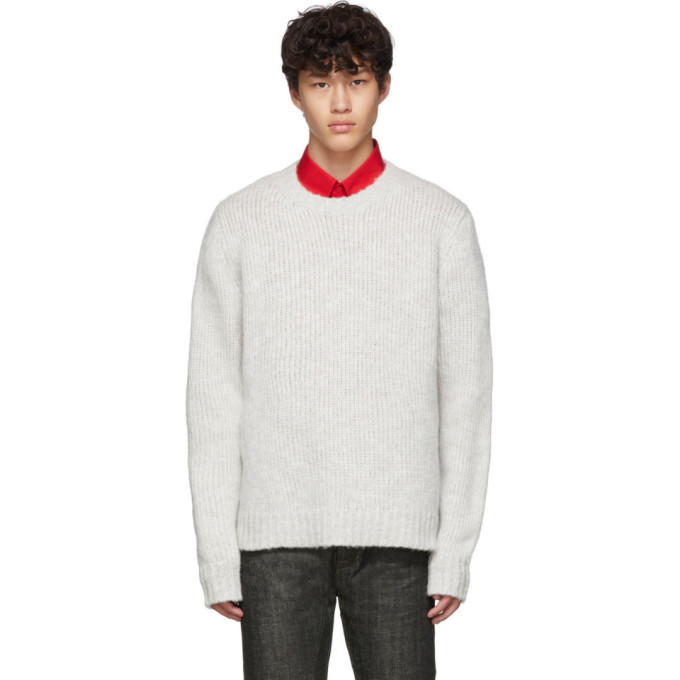 Photo: Helmut Lang Grey Ghost Marl Sweater