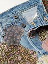 KAPITAL - Distressed Embellished Jeans - Blue