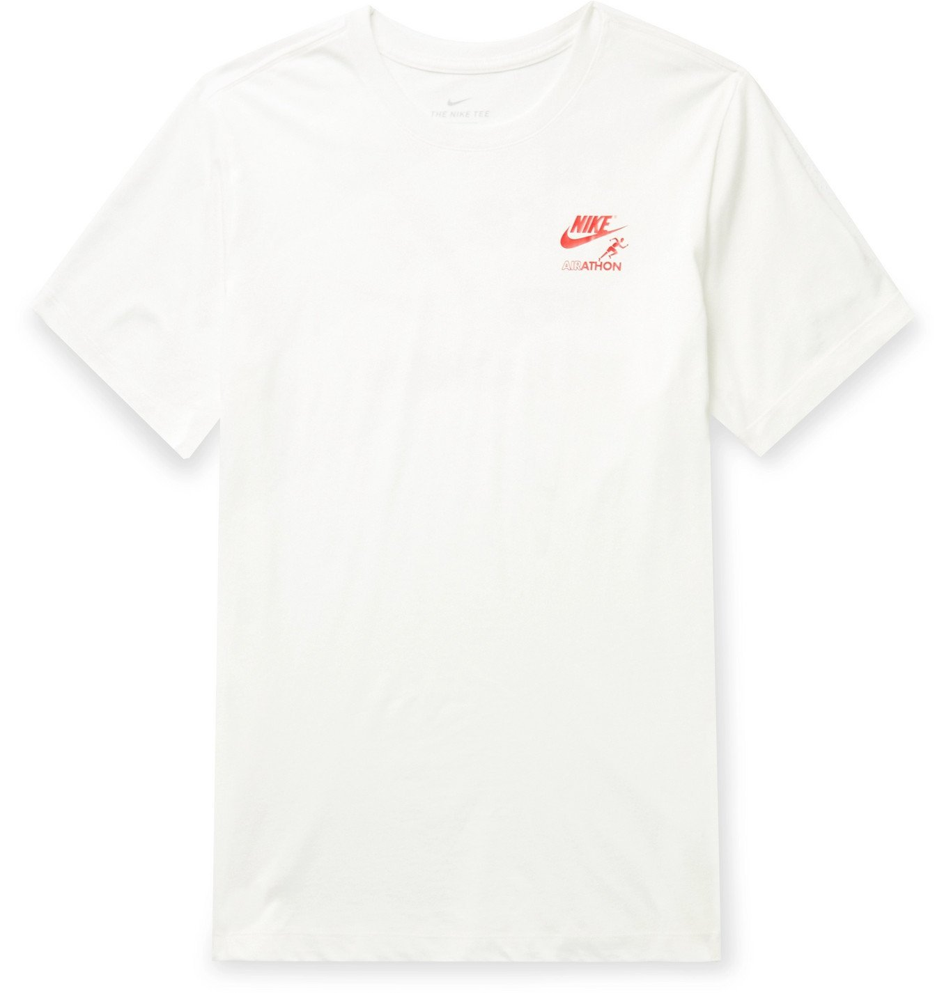 Photo: Nike - Logo-Print Cotton-Jersey T-Shirt - White