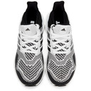 adidas Originals White and Black Ultraboost 1.0 DNA Sneakers