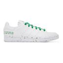 adidas Originals White Clean Classics Stan Smith Sneakers