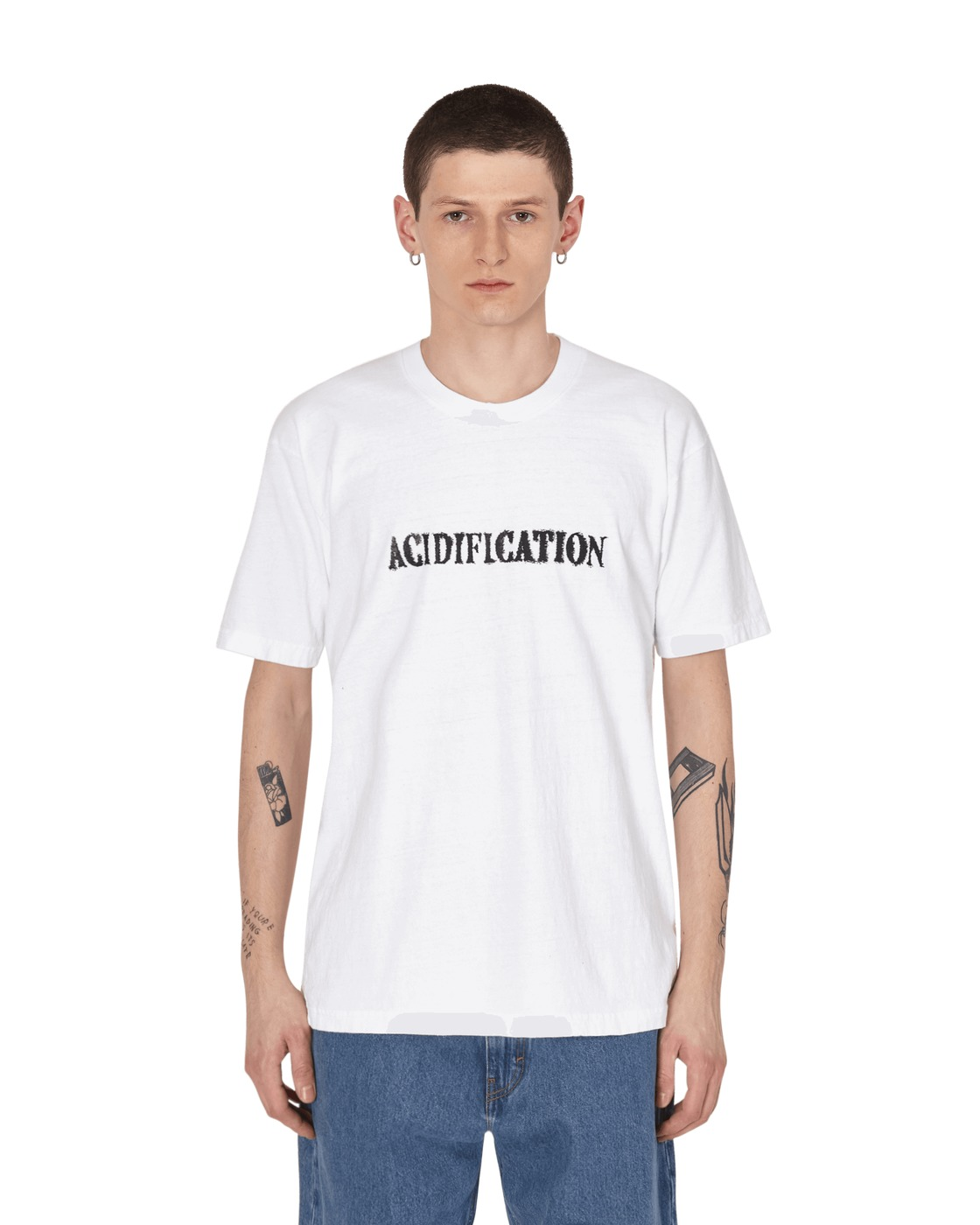 Eden Power Corp Accidification Recycled T Shirt White