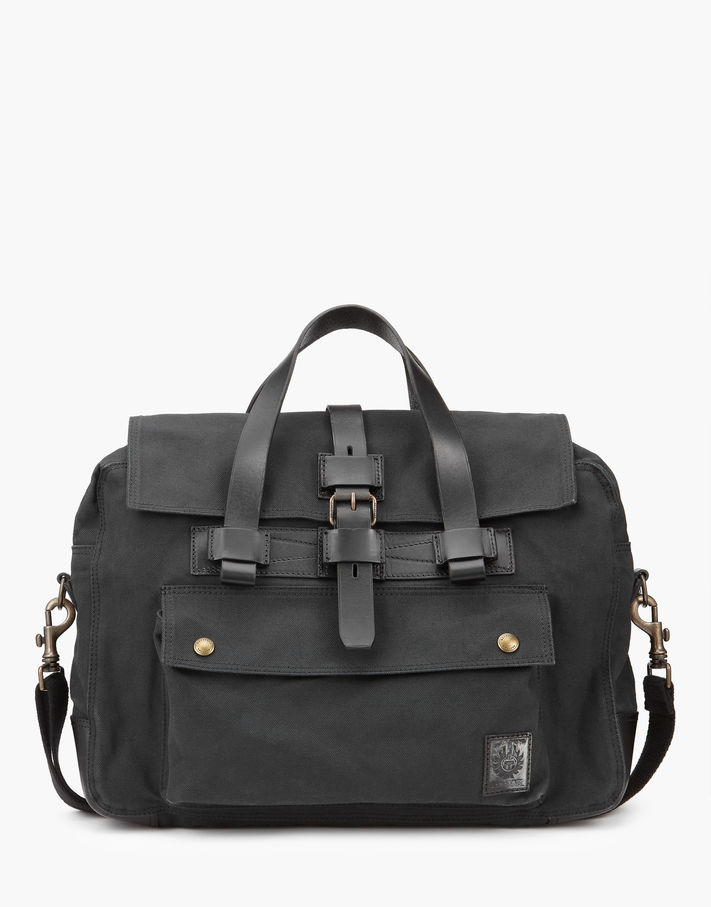 Photo: Belstaff Colonial Briefcase khaki