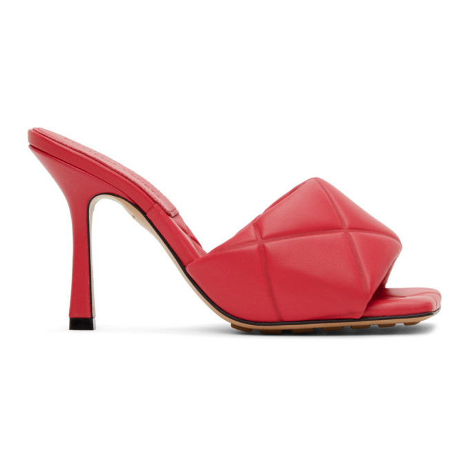 Photo: Bottega Veneta Pink Lido Sandals