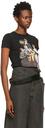 Raf Simons Black 'Family Portrait' T-Shirt