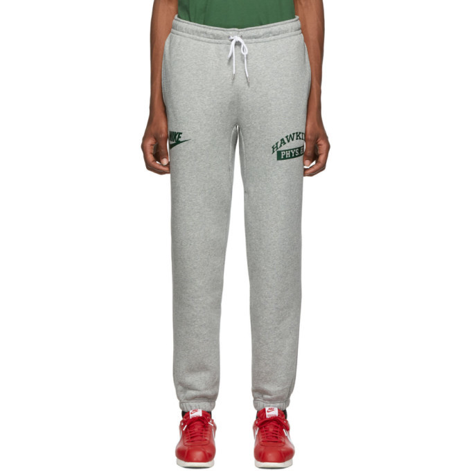 Nike Grey Stranger Things Edition Hawkins High Sweatpants