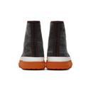 Martine Rose Black Denim Basketball Sneakers