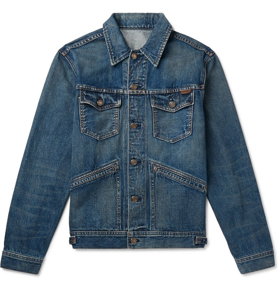 Photo: TOM FORD - Denim Jacket - Mid denim