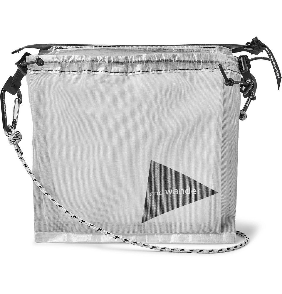 Photo: And Wander - Dyneema Pouch - White