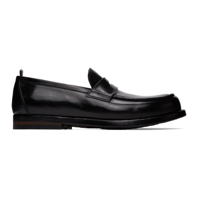 Photo: Officine Creative Black Vine 1 Loafers