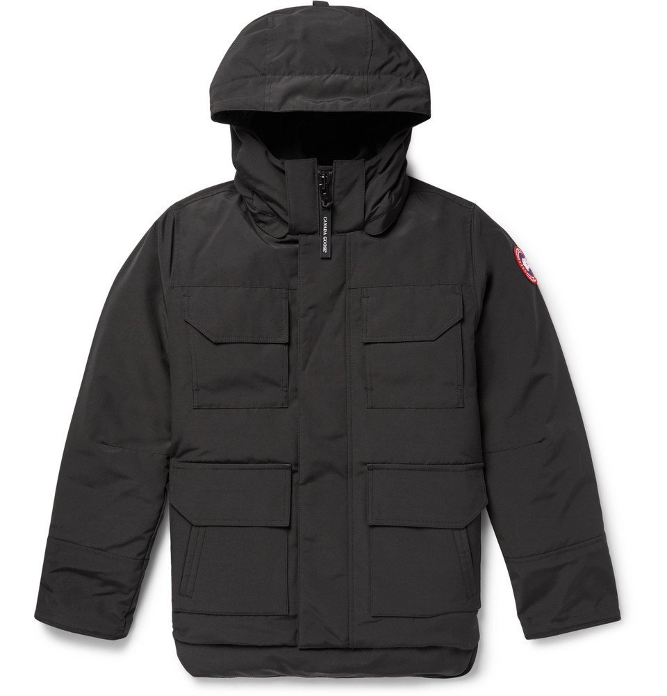 Photo: Canada Goose - Maitland Shell Hooded Down Parka - Black