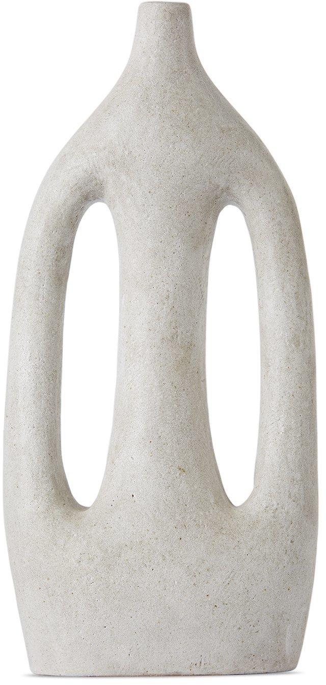 Photo: Viv Lee Off-White Large Sympoiesis Vase