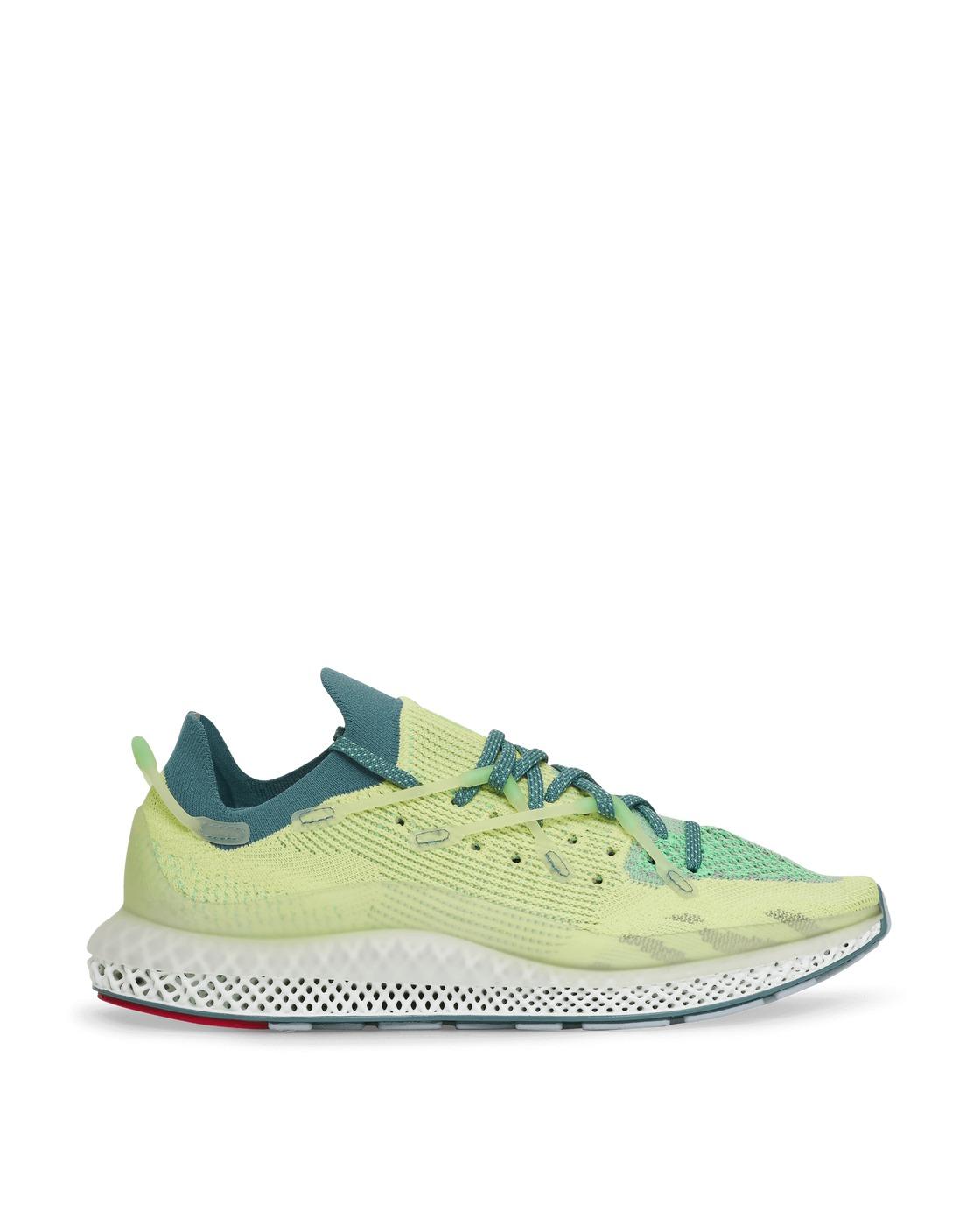 Photo: Adidas Originals 4d Fusio Sneakers Froz Yellow/Emerald 41