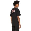 Raf Simons Black Christiane F. Wet Hair T-Shirt