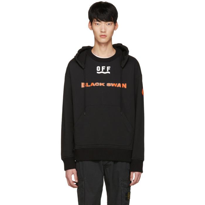 moncler o black swan hoodie