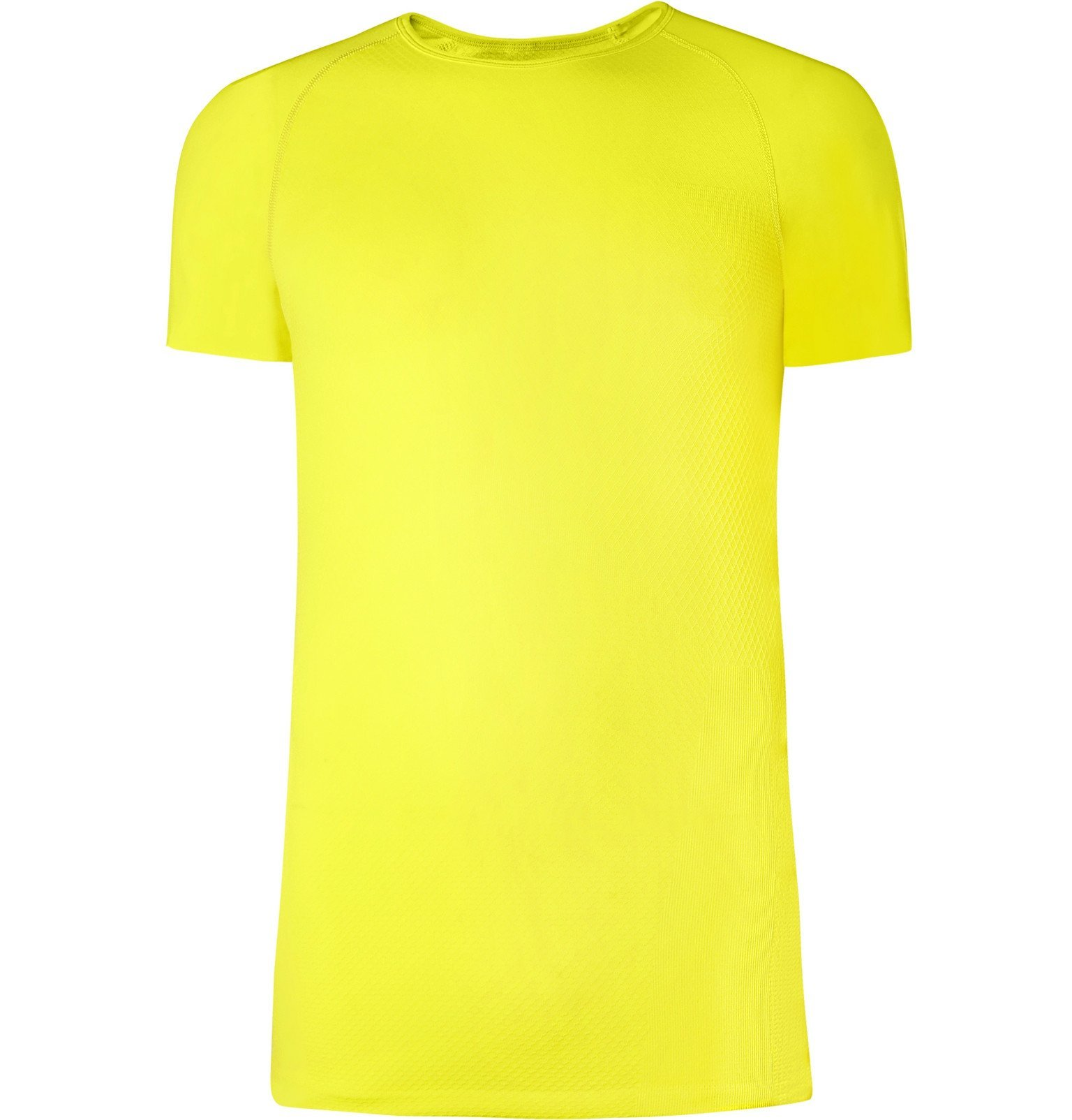 Photo: FALKE Ergonomic Sport System - Cool Tech-Jersey T-Shirt - Yellow