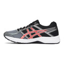 Asics Black and Red Gel-Contend 4 Sneakers