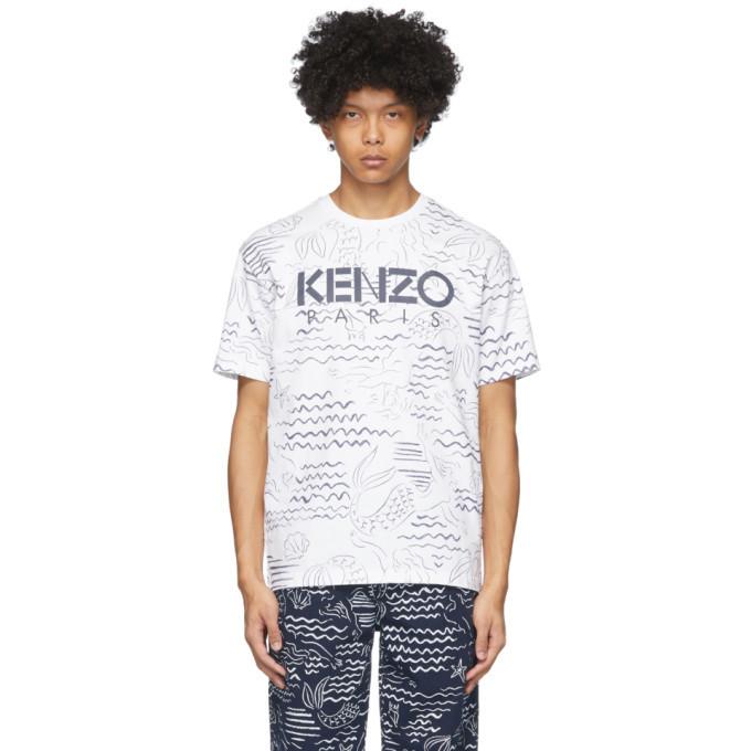 Photo: Kenzo White Mermaids T-Shirt