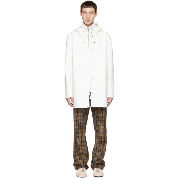Photo: Stutterheim White Stockholm Raincoat
