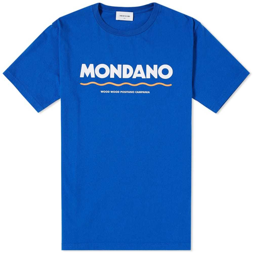 Photo: Wood Wood Sami Mondano Tee Blue