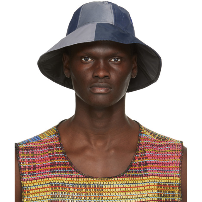 Photo: Bethany Williams Multicolor Recycled Tent Hat