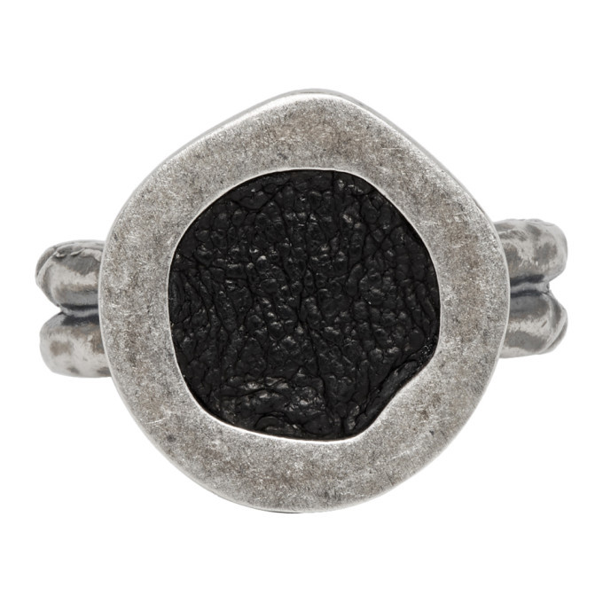 Photo: Guidi Silver Oval Top Ring