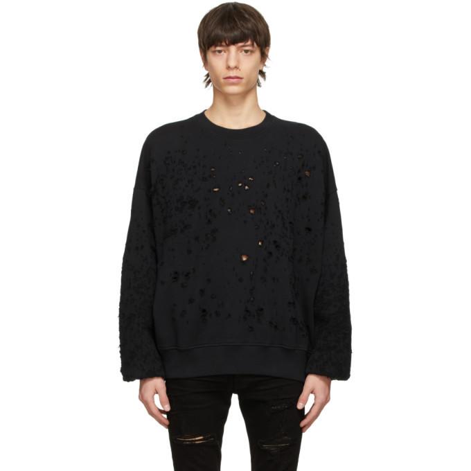 Photo: AMIRI Black Shotgun Sweatshirt