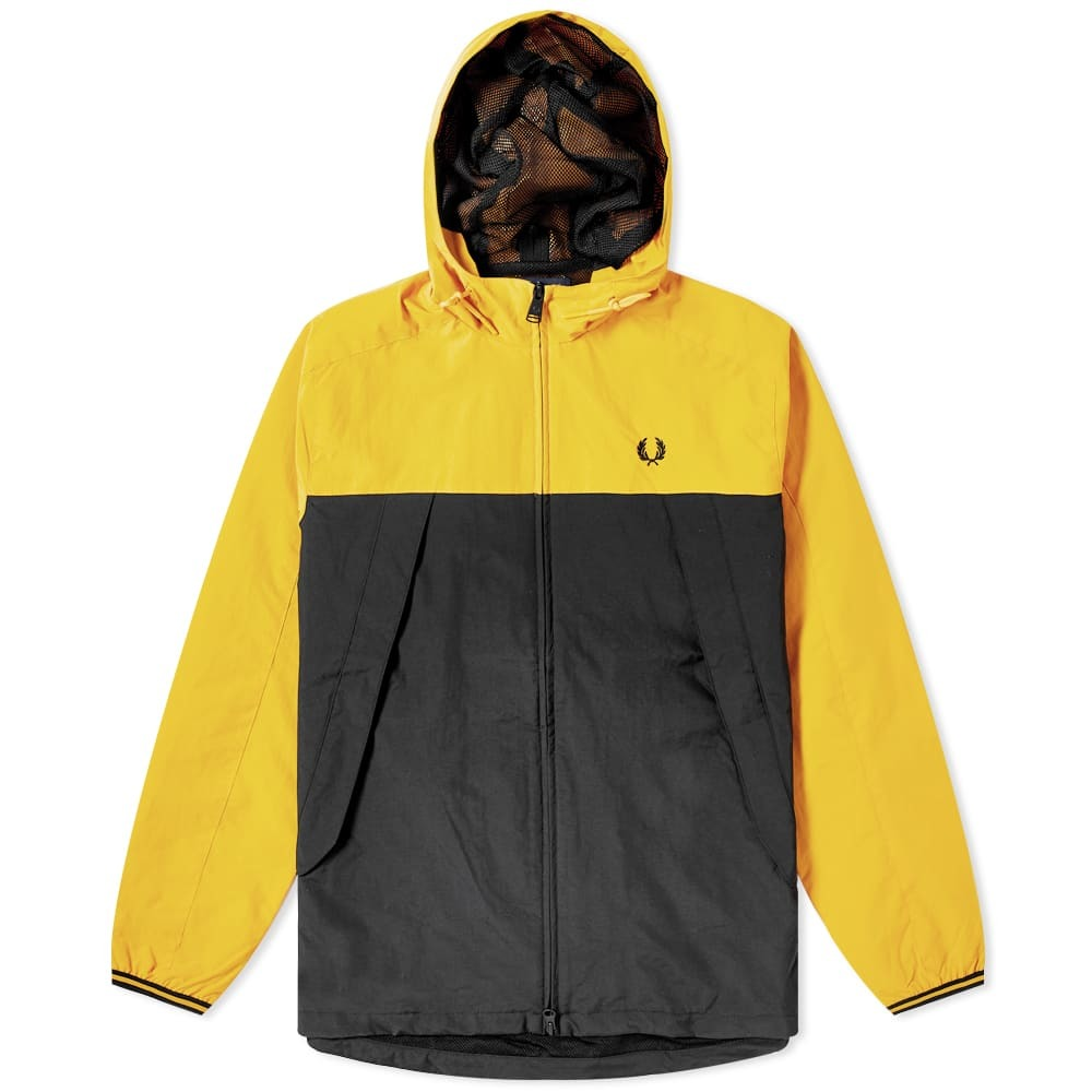 Photo: Fred Perry Authentic Colour Blocked Panelled Jacket