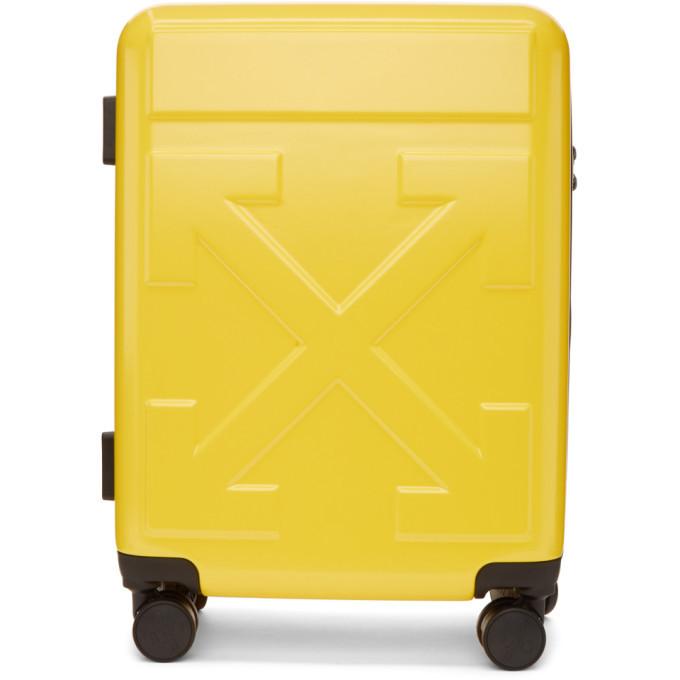 Photo: Off-White Yellow Arrows Suitcase