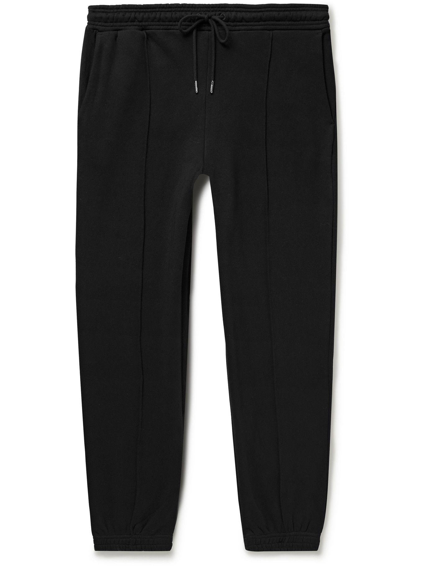 Photo: Ninety Percent - Organic Cotton-Jersey Sweatpants - Black