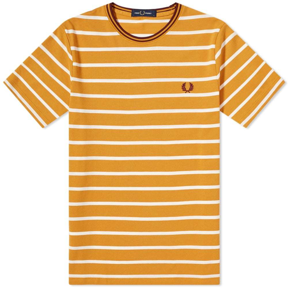 Photo: Fred Perry Authentic Pique Stripe Tee